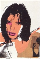 mick jagger [ii.141] by andy warhol